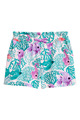 Holiday Hawaii beach little girls custom shorts