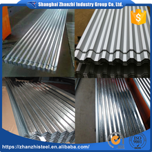 Eco-Friendly Galvalume Corrugated Metal Roofing Panels