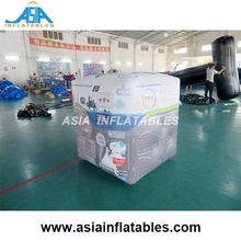 Inflatable Cube Balloon, Advertising Rectangle Helium Balloon for Outdoor Promotion