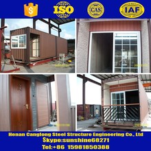 Sandwich Panel steel structure Container house sandwich panel 40ft 20ft container house container living homes