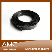 plain black magnetic rubber strip