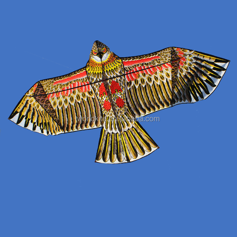 New Arrival High Quality 1.8m Golden Edge Eagle Kite