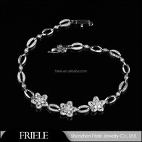Handmade Jewelry Cheap Wholesale China 925 Italian Fashion Women Silver Bracelet