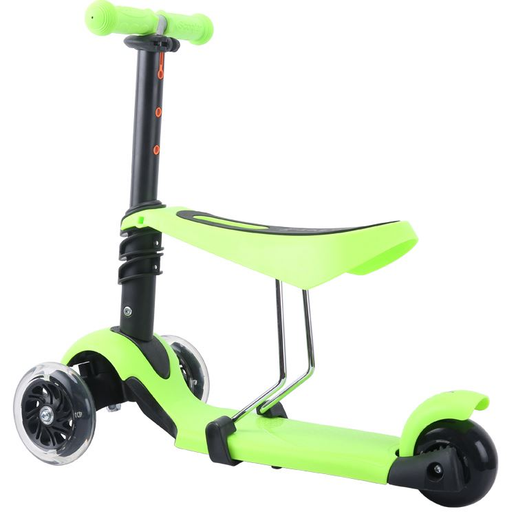 Factory Directly Sale Oem & Odm Led Small Kick Kids Scooter 3 Wheels