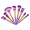 8pcs Special makeup brush and cosmetic with honey comb handle High quantity.
