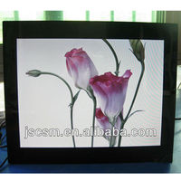 "top manufacturer ! cheapest 15"" big digital photo frame with HD mirror 4:3 photo video loop JSC-1501"