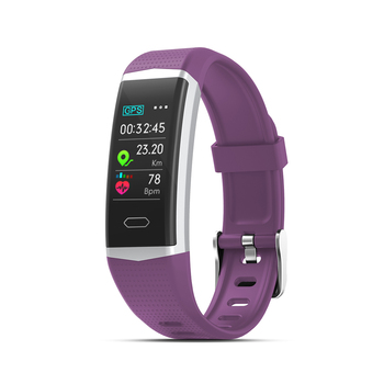 2019 newest smart bracelet with multi sports modes USB charging blood pressure software custom
