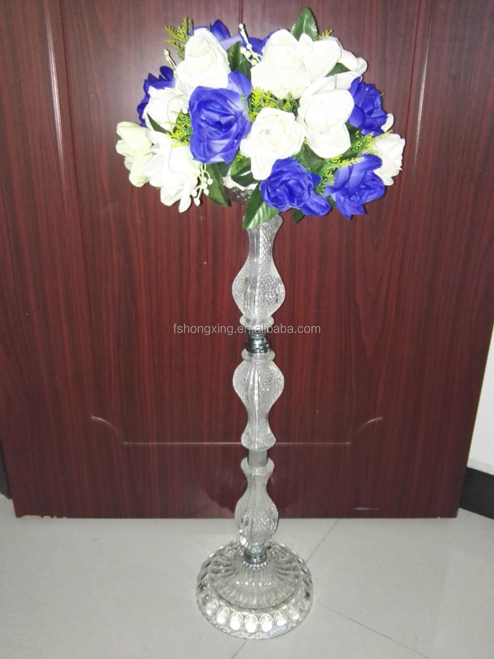 Wedding table flower stands vase for