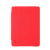 Red PC PU leather case cover for ipad mini with stand vision