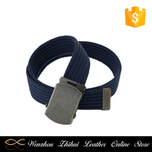 Factory Custom Fashion Casua Polyester Fabric Canvas boys Belt