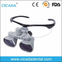 CICADA China dental supply Dental medical equipment Binocular Loupes 2.5X 3.5X magnifying glasses with CE Approved
