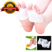 Soft Silicone Toe Separators Spacer Straightener Relief Foot Bunion Pain Gel Toe Separators For Bunions Gel Bunion Guard HA00583