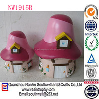 wholesale new item resin home decoration mini garden fairy house