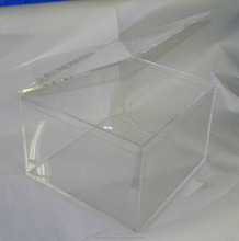 Clear Custom Order Acrylic Display Boxes