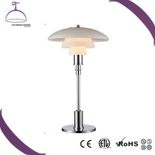 Hot sale dining reading study modern table lamp,E14/E27 desk lamp