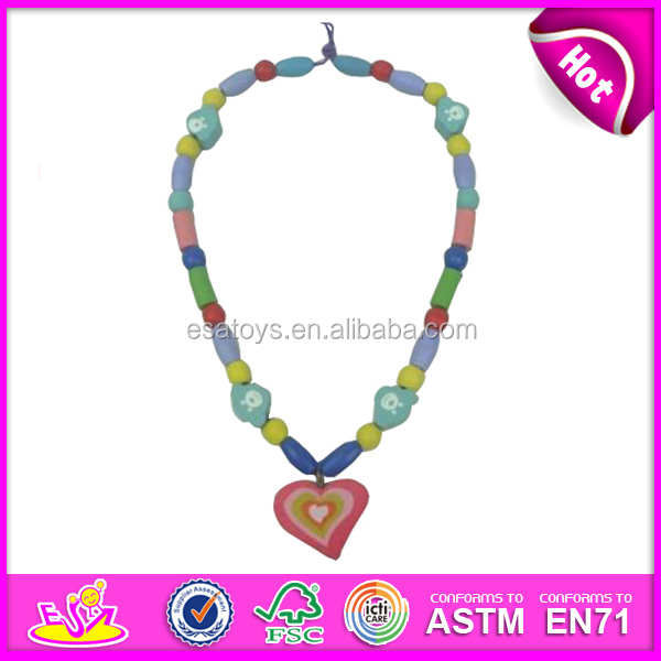 2015 New kids beads toys for girl,popular children wooden beads toys for girl,DIY baby wood beads toys for girl W11E027