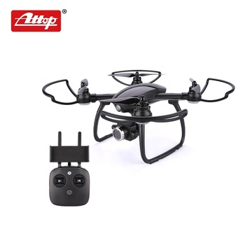 W 4 axis selfie wifi brushless professional rc long distance drone gps with hd camera