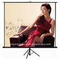 Home cinema or conference use tripod projector screen
