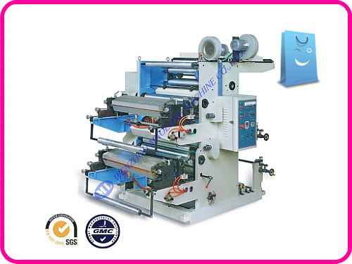 New Model good service palstic bag flexo printing machine