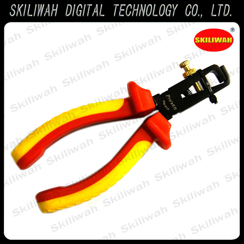 Alibaba Wholesale ProsKit 1000V PM-910 Insulated Wire Stripping Pliers For Cutting Cable