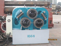 W24S-16 tube 3 roller section bending machines