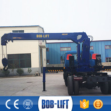 hot sale big discount fast delivery truck mounted crane SQ10SA3
