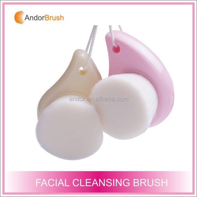 Best selling products in America Europe Korea girl's pink comma shape brush