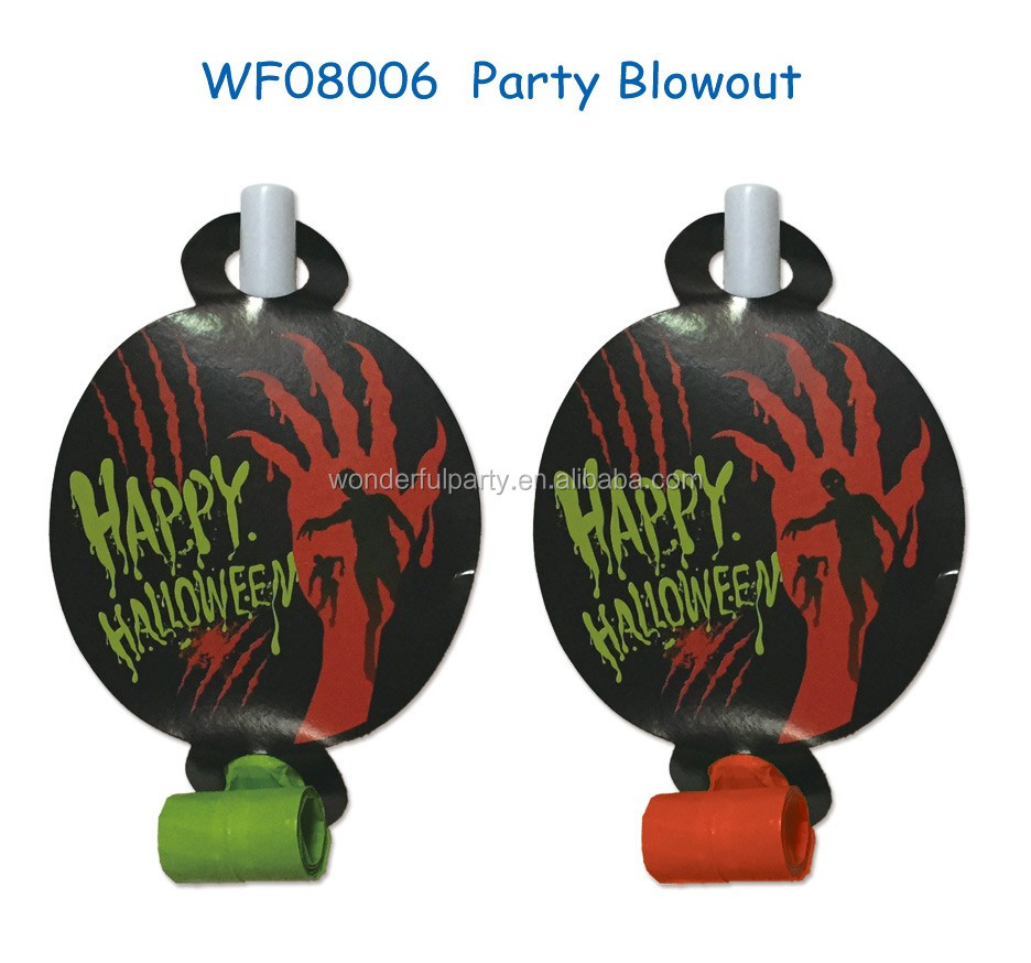 Halloween Whistle Blowouts Party Birthday