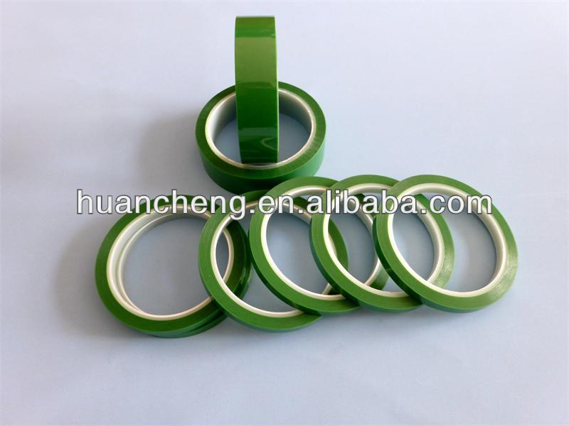 Light Green polyester Tape or high temperature coil wrapping