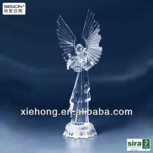 transparent acrylic angel table decoration
