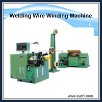 China Co2 mig welding wire layer winding machine,wire rewinding machine