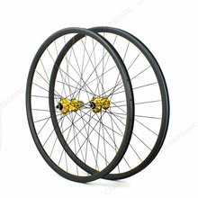 29er MTB mountain bike wheel, carbon clincher wheels