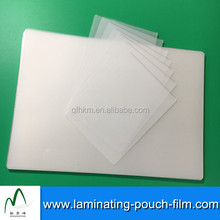 Soft Plastic Cover 5mil 7mil Glossy Laminating Pouch Films For Key Cards Protection