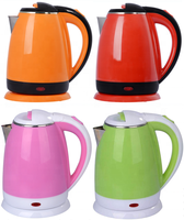China good supplier Longji home small appliances india selling low price LJ-18E stainless steel electric kettle