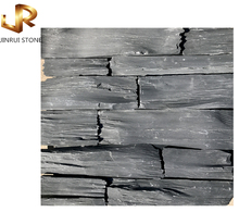 Hebei High quality natural black exterior wall stone veneer