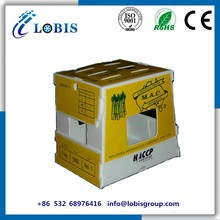 China wholesale coroplast Fruits/ Vegetables Corrugated Plastic Packaging Box