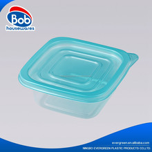 plastic storage box with lid hot pot lunch box airtight food storage container