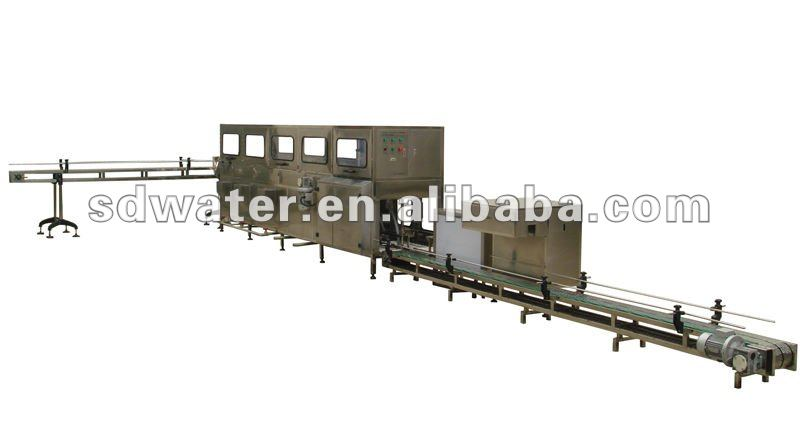 Luxury style Automatic 300 Barrel per hour 5 Gallon Water Bottling Plant
