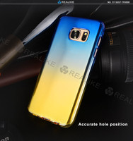 China phone case manufacturer wholesale for samsung galaxy s7 tpu cover , color changing phone case