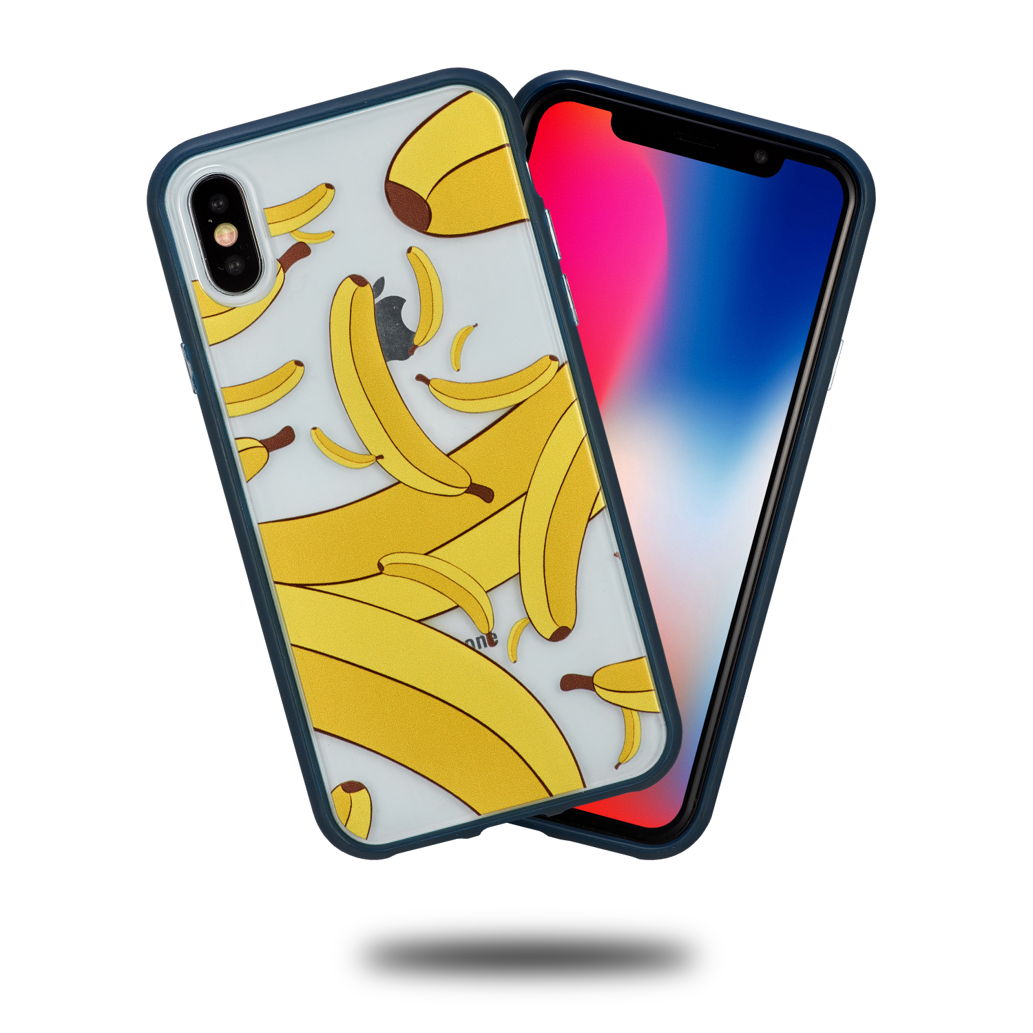 CTUNES For iPhone X Case,Hybrid High Impact Protective Hard PC back TPU Case Cover for iPhone X