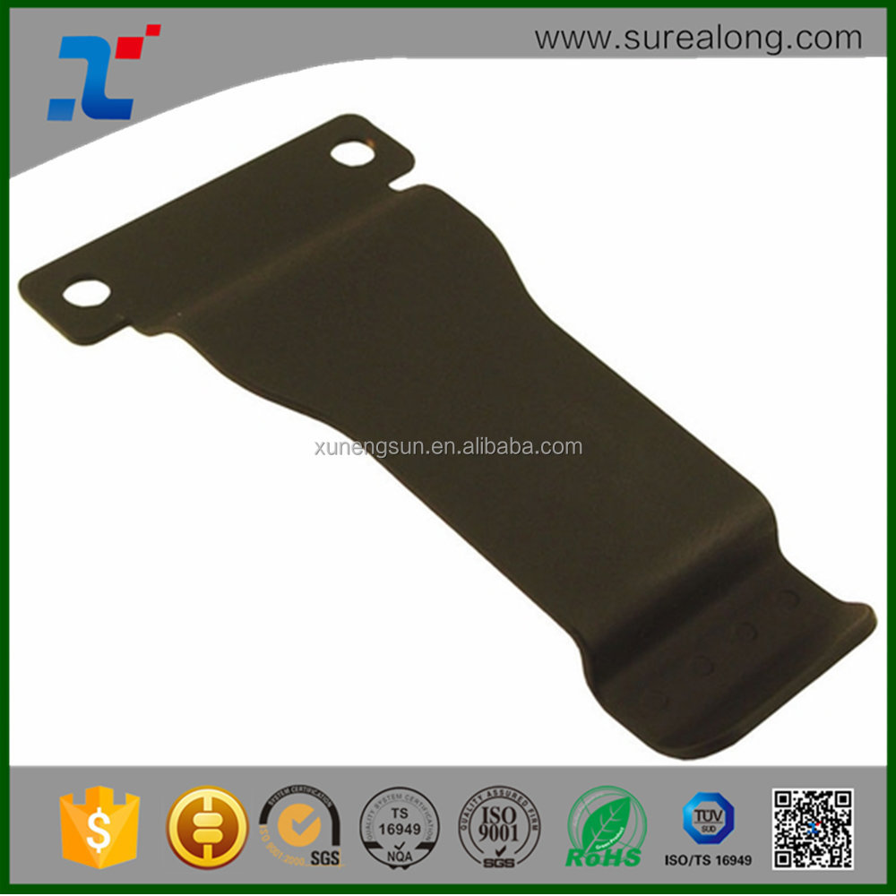 Custom stainless steel fabrication precision stamping metal belt clip