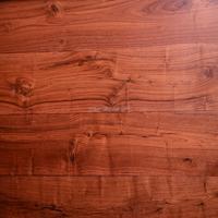 Royal Black Walnut Smooth Engineered Professional Tianjin Solid Wood Flooring