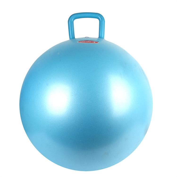 Safty and durable jumping ball with handle for kids play