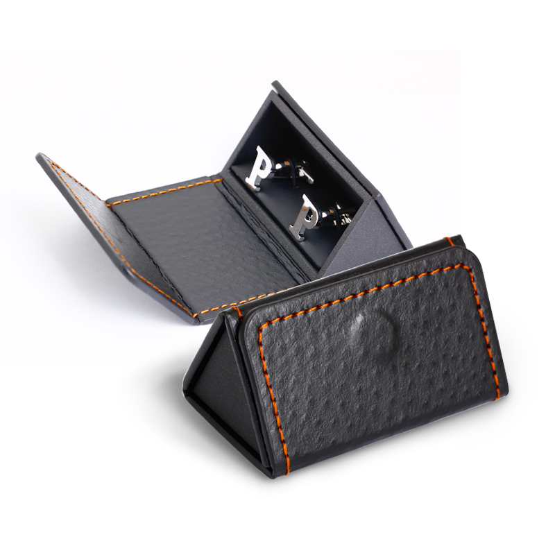 new style triangle folding cufflink packaging box make your own cufflinks box buy make your own cufflinks boxmake cufflinks box product on - Cufflink Box