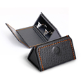 New style triangle folding cufflink packaging box make your own cufflinks box