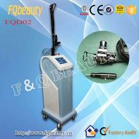 RF tube Fractional CO2 Laser medical equipment for revitol scar removal