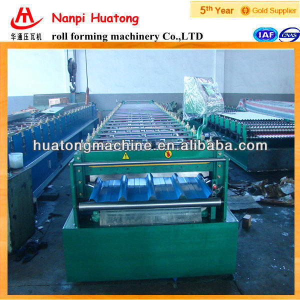 Popular panel in Tailand,Trapezoid tile roll forming machine,Made in China