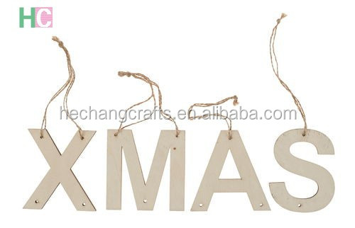 customized plywood hanging letters for sale
