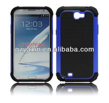 beauty hot selling rubber cases for samsung galaxy note 2 n7100