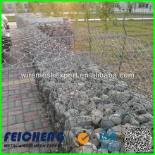 ASTM 975 standard galvanized welded gabion for architecture